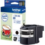 Brother Tinte LC22UBK LC22UBK schwarz