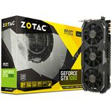 8GB ZOTAC GeForce GTX 1080 AMP! Extreme Edition Aktiv PCIe 3.0 x16 (Retail)