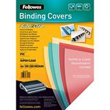 Fellowes Deckblatt SUPER CLEAR, DIN A4, PVC, 0,20 mm
