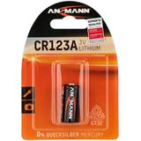 ANSMANN CR123A Lithium Batterie 3.0 V 1er Pack