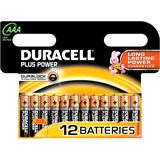 Duracell Micro AAA 1,5V Plus Power 12er-Pack