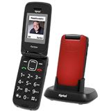 Tiptel Ergophone 6232 GSM rot
