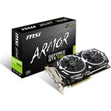 6GB MSI GeForce GTX 1060 Armor 6G OCV1 Aktiv PCIe 3.0 x16 (Retail)
