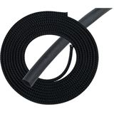 "Phobya Simple Sleeve Kit 13mm (1/2"") Schwarz 2m incl. Heatshrink 30cm"