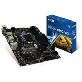 MSI B250M PRO-VDH Intel B250 So.1151 Dual Channel DDR mATX Retail