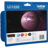 Brother Tinte LC1220 LC1220VALBP cyan, magenta, gelb
