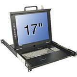 "Lindy 17""LCD KVM Terminal Classic IT 19""1HE Single Rail Schublade"