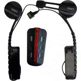 Cardo Systems Inc. Bluetooth-Fahrrad Headset BK-1 (Single) - schwarz/rot