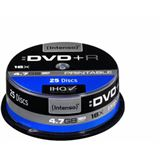 Intenso DVD+R 4.7 GB bedruckbar 25er Spindel (4811154)