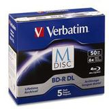 Verbatim M-DISC BD-R DL 50GB/1-6x Jewelcase (5 Disc)