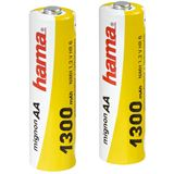 Hama HR6 AA / Mignon Nickel-Metall-Hydrid 1300 mAh 2er Pack