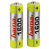 Hama HR6 AA / Mignon Nickel-Metall-Hydrid 1600 mAh 2er Pack