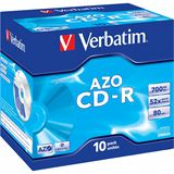 Verbatim CD-R 700 MB 10er Jewelcase (43327)