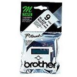 Brother MK221 Schriftbandkassette 9mm 8m black/white f. P-touch55 60 65 75 8