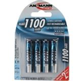 ANSMANN Energy AAA / Micro Nickel-Metall-Hydrid 1100 mAh 4er Pack