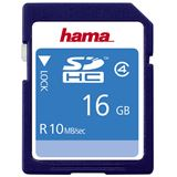 16 GB Hama High Speed SDHC Class 4 Bulk