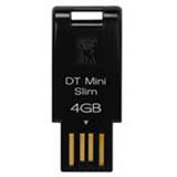 4GB Kingston DataTraveler Mini Slim schwarz USB 2.0