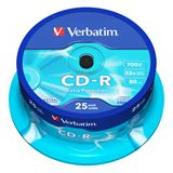 Verbatim CD-R 700 MB 25er Spindel (43432)