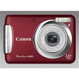 Canon Powershot A480 Red 10MP