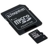 16 GB Kingston Standard microSDHC Class 2 Retail inkl. Adapter