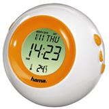 Hama LCD-Thermometer TC-300, Orange