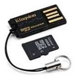 4 GB Kingston Standard microSDHC Class 4 Retail inkl. Adapter