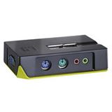 LevelOne KVM-0211 2-fach Desktop KVM-Switch
