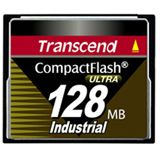 128 MB Transcend Industrial Ultra Compact Flash TypI 100x Bulk