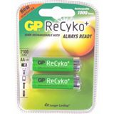 GP Batteries Akkus AA / Mignon Nickel-Metall-Hydrid 2050 mAh 2er Pack