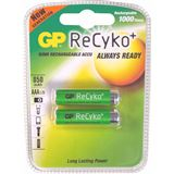 GP Batteries Akkus AAA / Micro Nickel-Metall-Hydrid 800 mAh 2er Pack