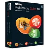 Nero Multimedia Suite 10 32/64 Bit Multilingual Brennprogramm Vollversion PC (DVD)