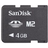 4 GB SanDisk M2 Gaming Memory Stick Micro Retail