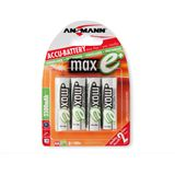 ANSMANN maxE Plus AA / Mignon Nickel-Metall-Hydrid 2500 mAh 4er Pack