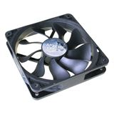 Akasa Apache case fan black 120x120x25mm 600-1300 U/min 16 dB(A) schwarz