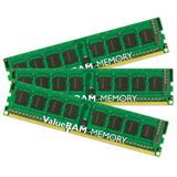 24GB Kingston ValueRAM DDR3-1333 regECC DIMM CL9 Tri Kit