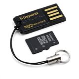 16 GB Kingston USB-Kit G2 microSDHC Class 4 Retail inkl. Adapter