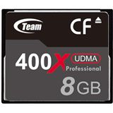 8 GB TeamGroup Standard Compact Flash TypI 400x Bulk