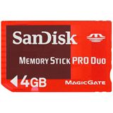 4 GB SanDisk Pro Duo Gaming Memory Stick Retail
