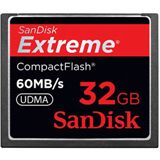 32 GB SanDisk Extreme Compact Flash TypI 400x Retail