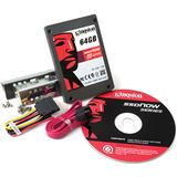 "64GB Kingston V Series 2.5"" (6.4cm) SATA 3Gb/s MLC asynchron (SV100S2D/64G)"