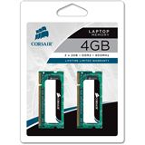 4GB Corsair ValueSelect DDR2-800 SO-DIMM CL5 Dual Kit