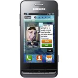 Samsung Smartphone Wave 723 metallic S7230 black