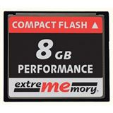8 GB Extrememory Performance Compact Flash TypI 300x Bulk
