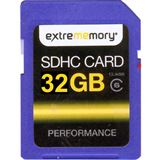 32 GB Extrememory Performance SDHC Class 6 Bulk