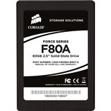"80GB Corsair Force Series 2.5"" (6.4cm) SATA 3Gb/s MLC asynchron (CSSD-F80GB2-BRKT-A)"