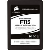 "115GB Corsair Force Series 2.5"" (6.4cm) SATA 3Gb/s MLC asynchron (CSSD-F115GB2-BRKT-A)"