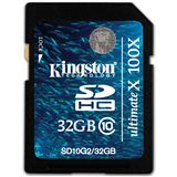 32 GB Kingston Ultimate X SDHC Class 10 Bulk