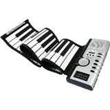 Logilink USB Roll Up Piano Kit [bk/wh]