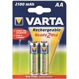 Varta® Akku (READY 2 USE) Ni-MH Mignon (AA) 1,2V 2100mA (56706), 4er Pack in Blister