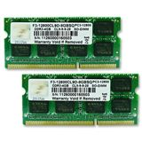 8GB G.Skill SQ Series DDR3-1600 SO-DIMM CL9 Dual Kit